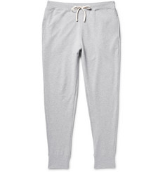 Handvaerk Flex Tapered Loopback Pima Cotton-Jersey Sweatpants