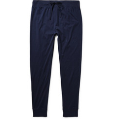 Handvaerk Slim-Fit Tapered Pima Cotton Pyjama Trousers