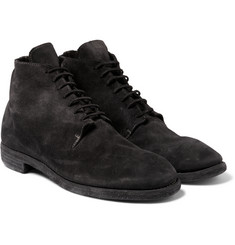 Guidi - Suede Lace-Up Boots