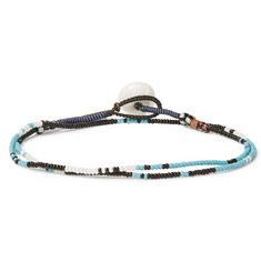 Mikia Glass Bead Wrap Bracelet