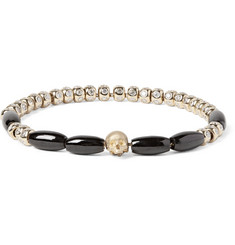 Luis Morais - Gold, Diamond and Spinel Bead Bracelet