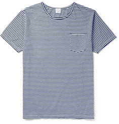 OrSlow - Striped Cotton-Jersey T-Shirt