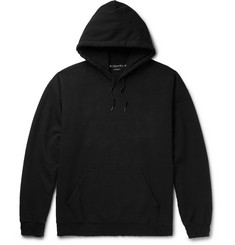 Sasquatchfabrix. - Korosuna Embroidered Fleece-Back Cotton-Blend Jersey Hoodie