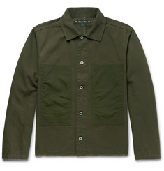 Sasquatchfabrix. Korosuna Embroidered Herringbone Cotton Jacket