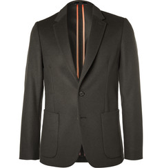 Paul Smith Slim-Fit Unstructured Wool and Cashmere-Blend Blazer