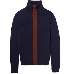 Paul Smith Striped Cashmere Rollneck Sweater