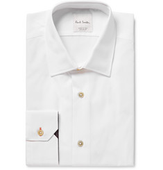 Paul Smith - White Slim-Fit Cotton-Poplin Shirt