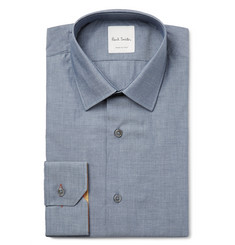 Paul Smith Blue Soho Slim-Fit Cotton-Chambray Shirt
