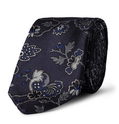 Paul Smith - 6cm Logan Floral Silk-Jacquard Tie