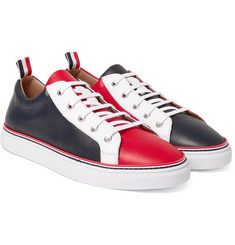 Thom Browne - Colour-Block Leather Sneakers