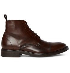 Paul Smith Jarman Cap-Toe Leather Boots