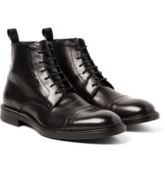 Paul Smith - Jarman Cap-Toe Leather Boots