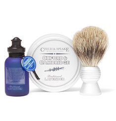 Czech & Speake - Oxford & Cambridge Travel Shaving Set
