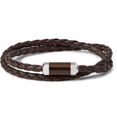 TATEOSSIAN - Monte Carlo Leather and Sterling Silver Bracelet