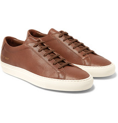 Common Projects - Original Achilles Grained-Leather Sneakers