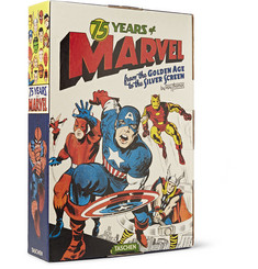 Taschen 75 Years of Marvel Comics: From the Golden Age to the Silver Screen Hardcover Book