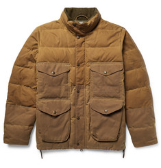 Filson Cruiser Quilted Water-Repellent Cotton-Canvas Down Jacket
