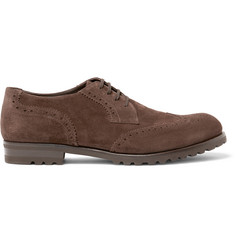 Harrys of London Gage Suede Wingtip Brogues