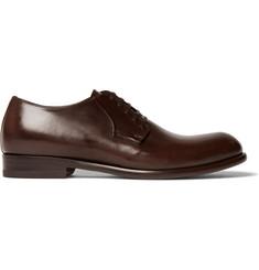 Harrys of London Gerrard Polished-Leather Derby Shoes