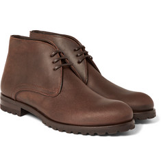 Harrys of London - Waxed-Suede Chukka Boots
