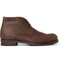 Harrys of London Waxed-Suede Chukka Boots