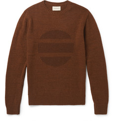 Oliver Spencer Intarsia Wool-Blend Sweater