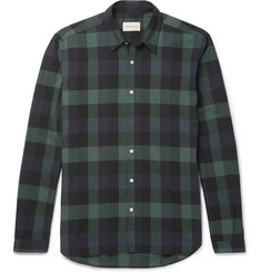 Oliver Spencer New York Special Slim-Fit Checked Cotton Shirt