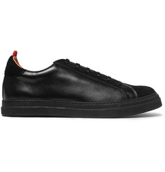 Oliver Spencer Ambleside Suede and Leather Sneakers