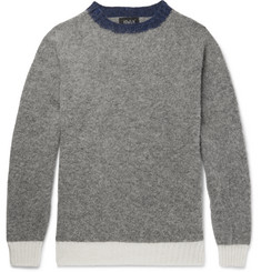 Howlin' Contrast-Trimmed New Wool Sweater