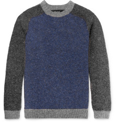 Howlin' Colour-Block Wool Sweater