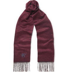 Canali - Double-Faced Silk and Cashmere-Blend Scarf