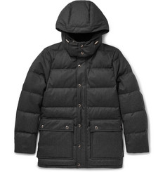 - Quilted Storm System® Wool Down Jacket