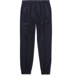 Marni Slim-Fit Wool-Blend Felt Trousers