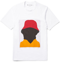 Marni EKTA Printed Cotton-Jersey T-Shirt
