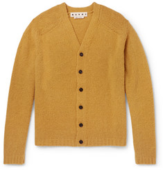 Marni - Brushed Wool-Blend Cardigan