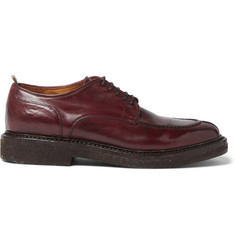 Officine Creative Stanford Polished-Leather Derby Shoes