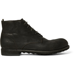 Officine Creative Distressed Leather Boots