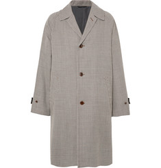 Camoshita Oversized Houndstooth Wool Coat