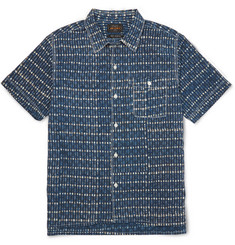 Beams Plus Printed Cotton Shirt
