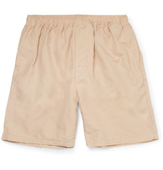 Beams Plus Slim-Fit Cotton and Linen-Blend Shorts