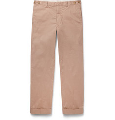 Beams Plus Slim-Fit Cotton-Blend Trousers