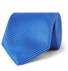 Charvet - 7.5cm Striped Silk-Jacquard Tie