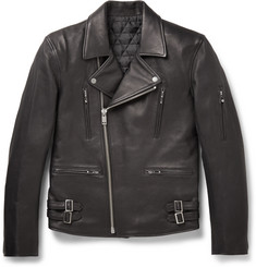 Blackmeans - Leather Biker Jacket