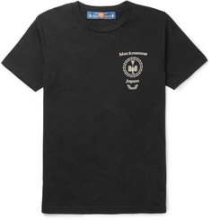 Blackmeans - Printed Cotton-Jersey T-Shirt