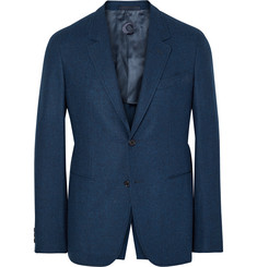 Caruso - Blue Butterfly Slim-Fit Wool And Cashmere-Blend Blazer