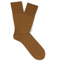 Falke - Airport Virgin Wool-Blend Socks