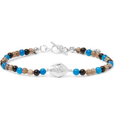 Isaia - San Gennaro Bead and Silver Bracelet