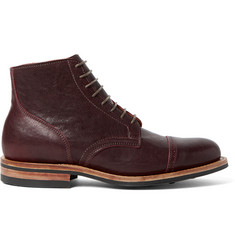 Viberg Service Leather Brogue Boots