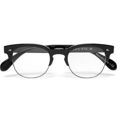Oliver Peoples Hendon D-Frame Acetate and Metal Optical Glasses
