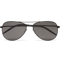 Oliver Peoples Kannon Aviator-Style Metal Sunglasses